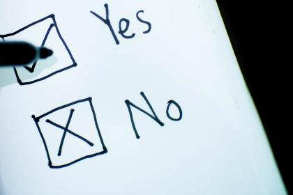 Yes/No Check-box
